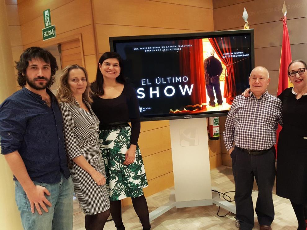 Álex Rodrigo dirigirá la primera serie de ficción de Aragón TV