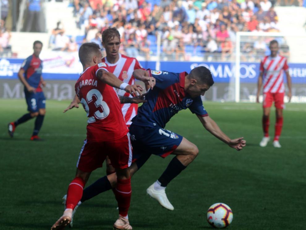 El Huesca jugará en Gerona el próximo sábado