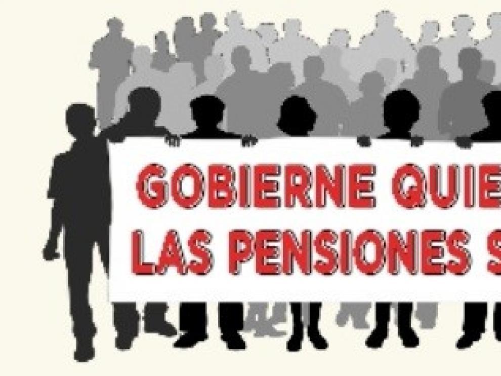 Concentración este sábado en Sariñena en defensa de las pensiones