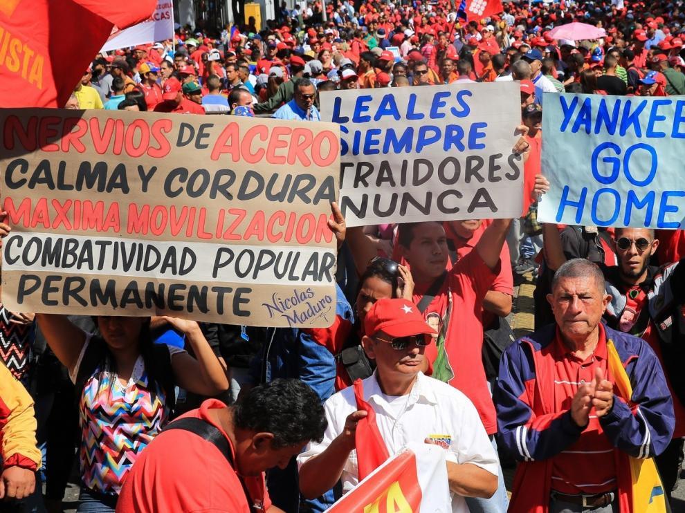 Descartan una intervención militar inminente en Venezuela