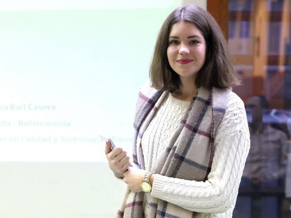 """Marina Buil Cavero: """"Incluir a nutricionistas en la sanidad pública evitaría muchas enfermedades"""""""