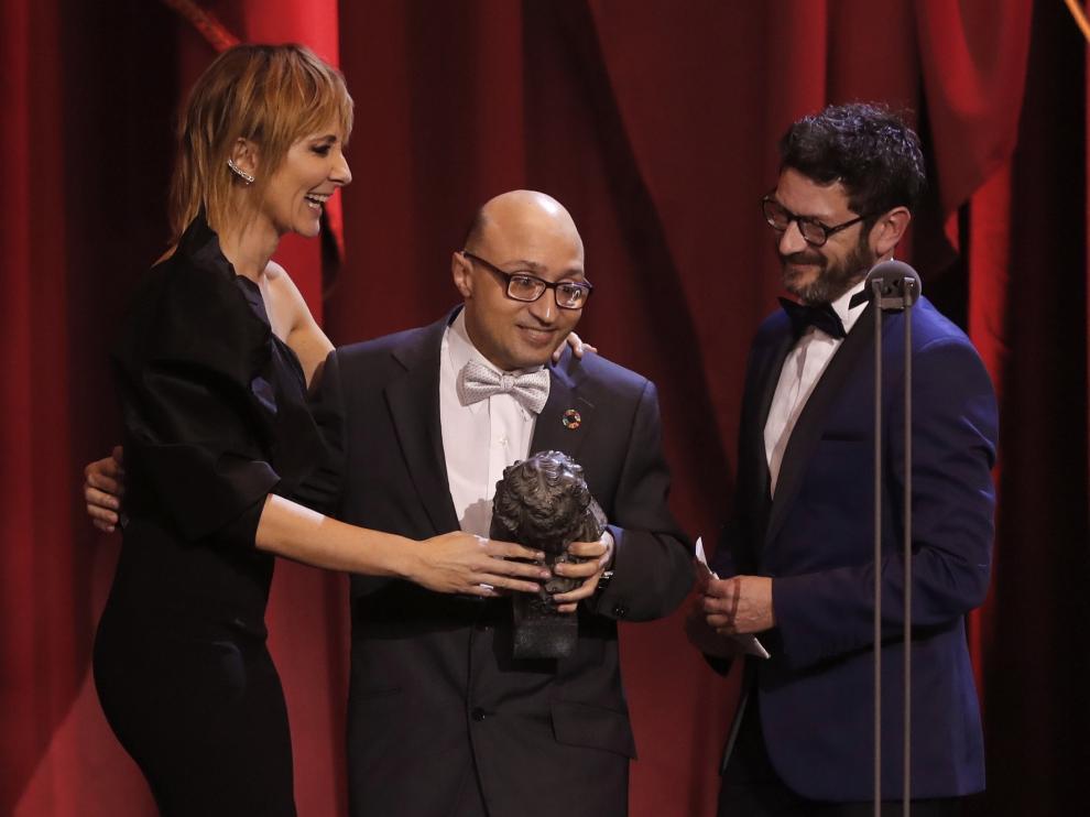 """Jesús Vidal, tras ganar el Goya """"Me vienen a la cabeza tres palabras inclusión, diversidad y visibilidad"""""""