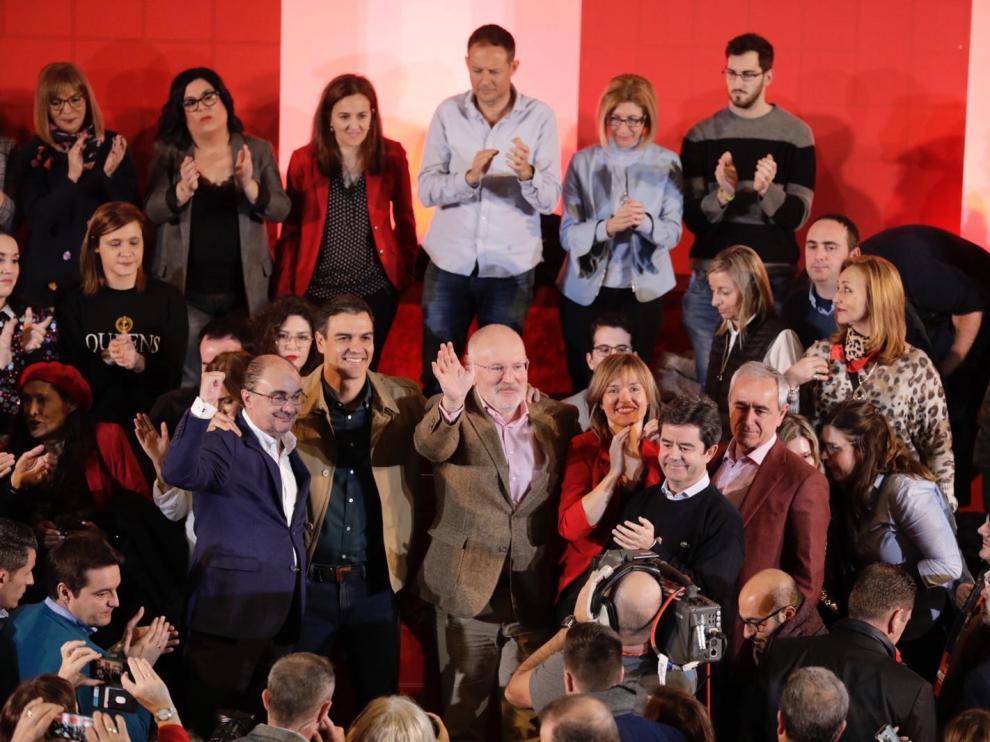 """Javier Lambán: """"Pretendo construir Aragón de la mano de todos"""""""