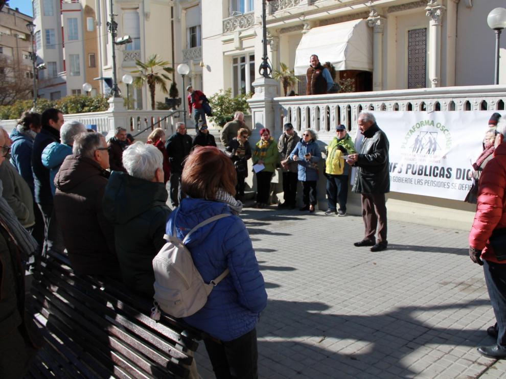 La pensión media en Huesca asciende a 942 euros en febrero