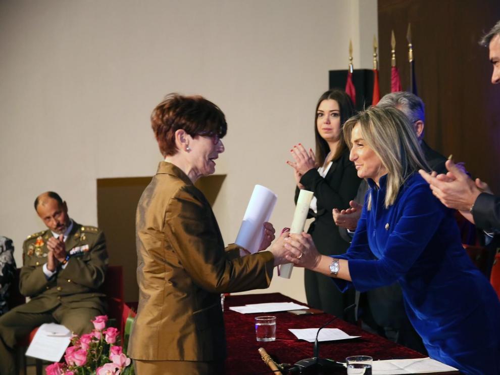 La oscense María José Coarasa, nombrada Hija Adoptiva de Toledo