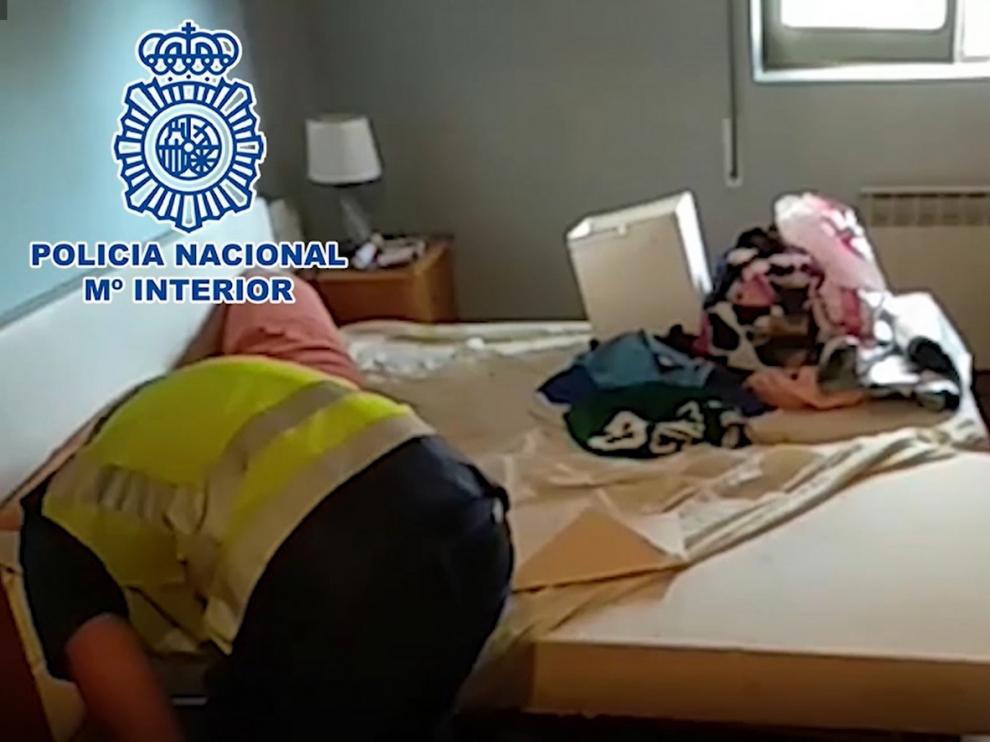 La Policía Nacional desmantela en una macrooperación una organización de narcotráfico que tenía una base en Huesca
