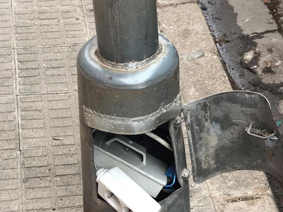 El 48 % de los fraudes eléctricos en Huesca fueron enganches de usuarios sin contrato