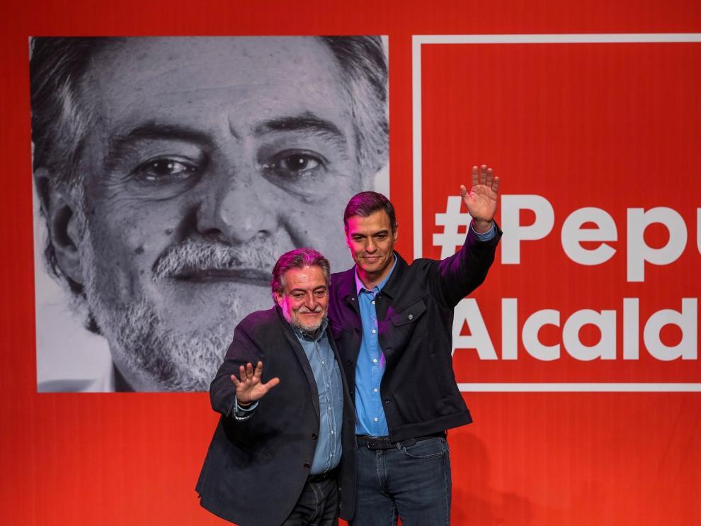 Sánchez alienta la candidatura de Hernández en Madrid