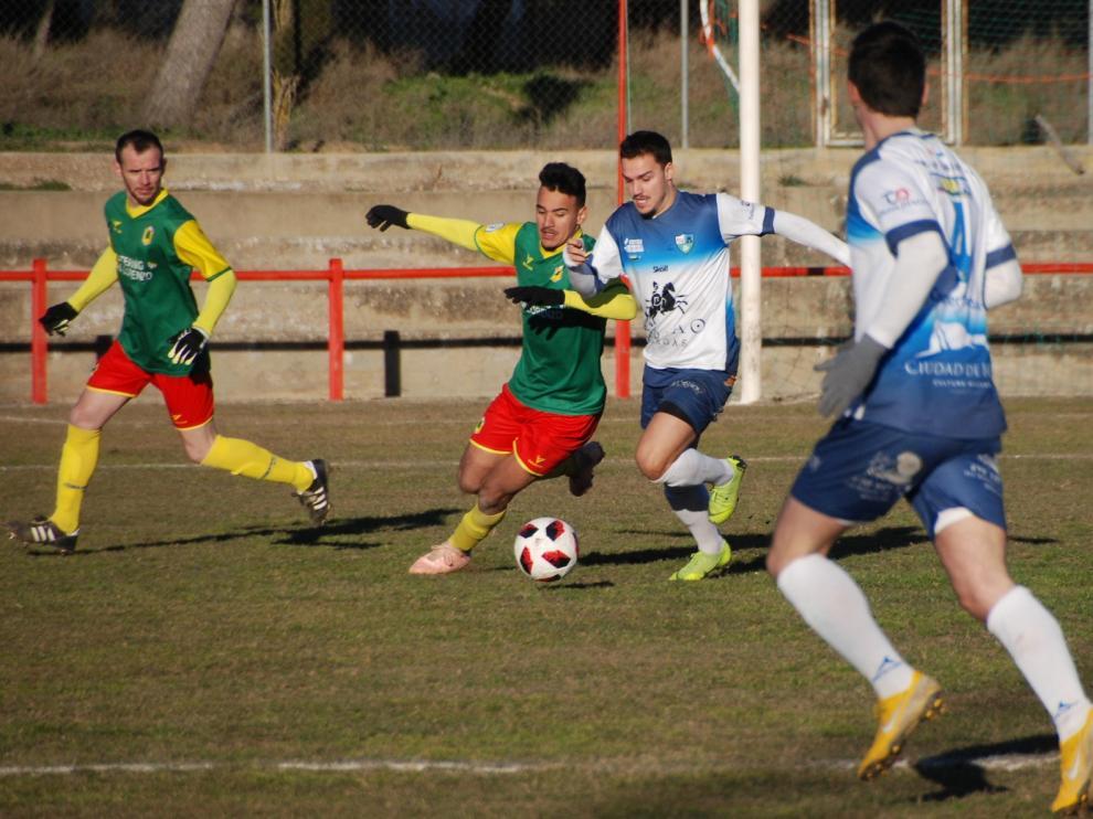 El San Lorenzo logró igualar ante el Borja en un duelo muy trabajado por los monegrinos