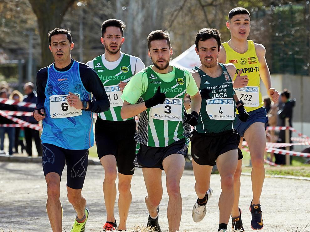El zoitista Juan Dutrey asegura el título de la Copa de Aragón de cross