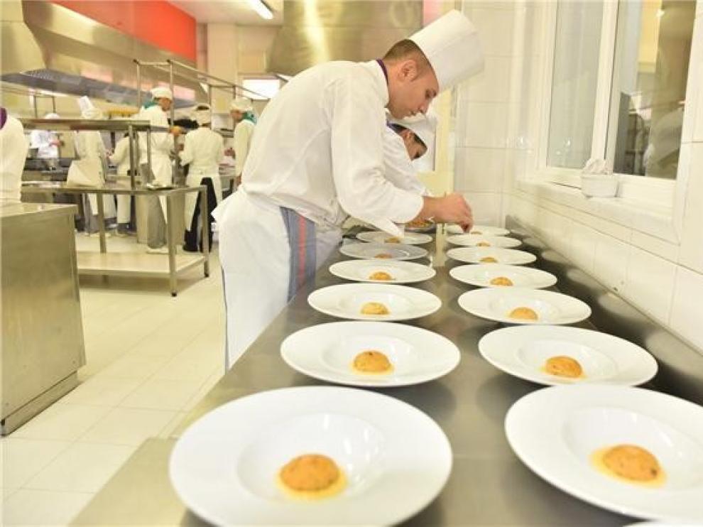 La Nouvelle Cuisine llena de sabor la escuela San Lorenzo
