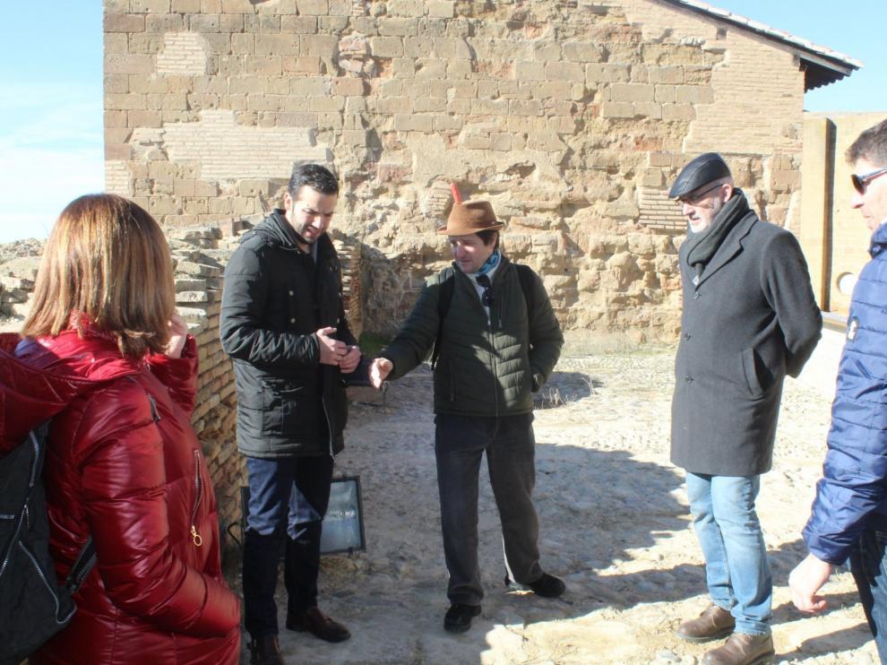 Finalizan las obras de seguridad del castillo de Monzón