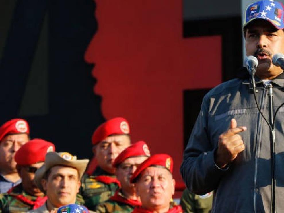 """Maduro ve """"cobarde"""" el apoyo de Pedro Sánchez"""