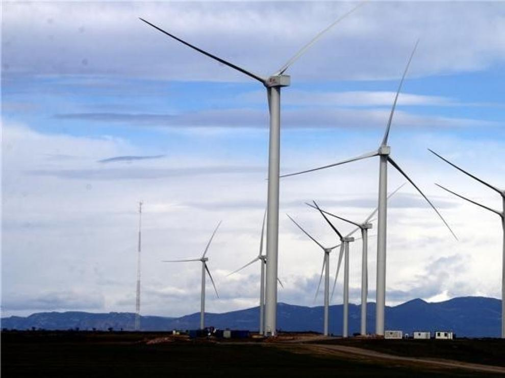 El PAR propone en Gurrea de Gállego un plan de retornos sociales y promoción por los parques eólicos