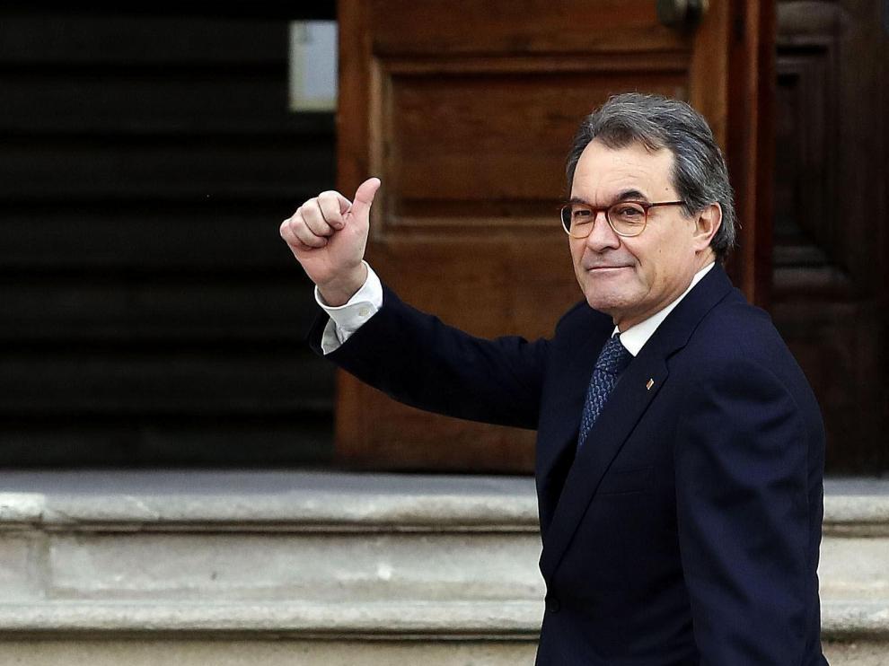 Artur Mas estará inhabilitado hasta el 23 de febrero de 2020 por el 9N