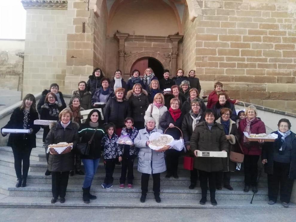 Las mujeres del Somontano se reúnen en Barbastro para celebrar Santa Águeda