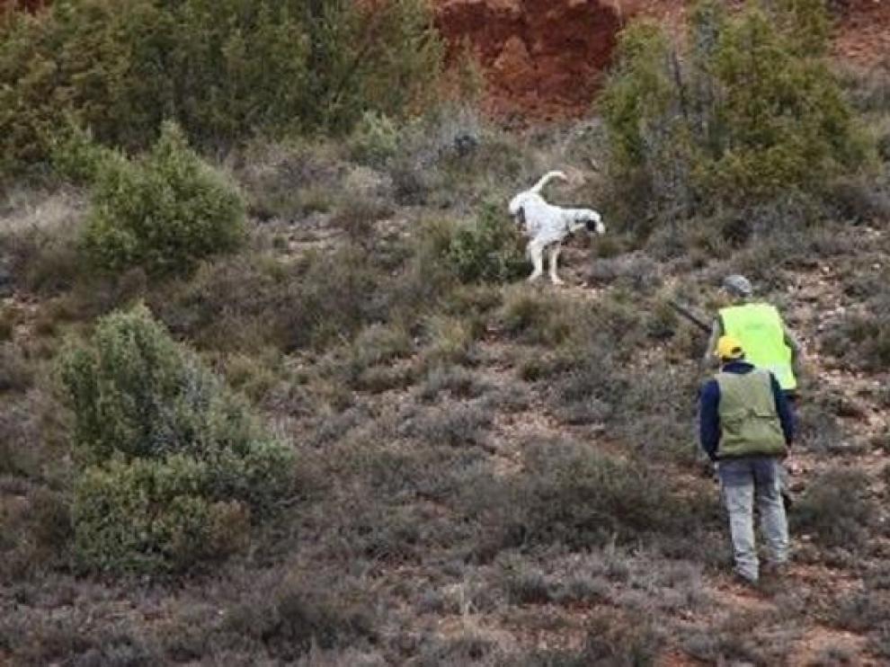 La sociedad de caza de Yebra formaliza el uso de unos terrenos para su actividad
