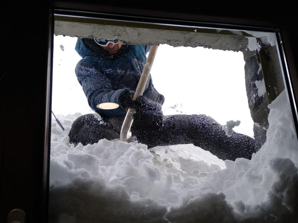 Góriz, la vida a 20 grados bajo cero en un refugio del Pirineo de Huesca