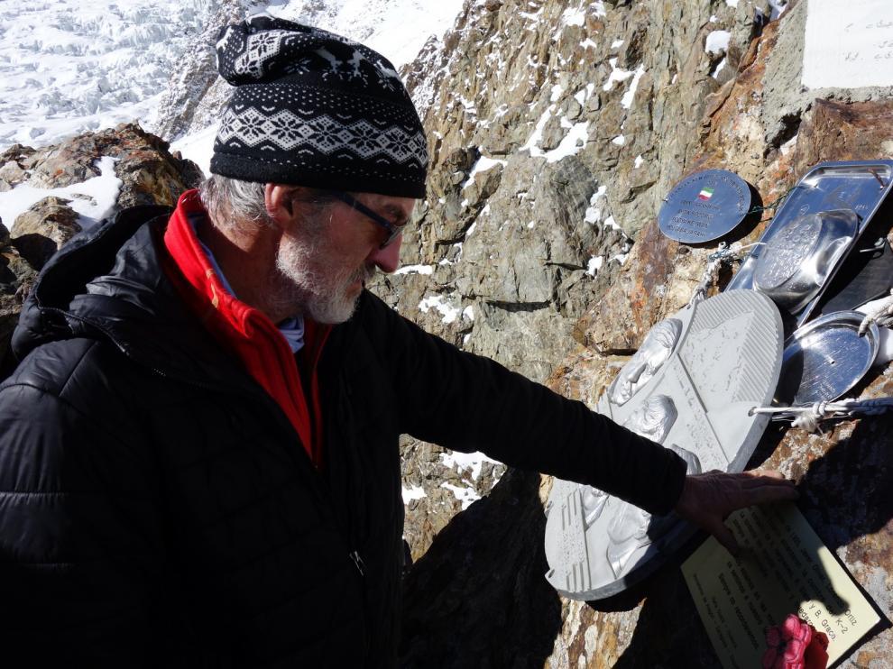 Lorenzo Ortas revive 24 años después la tragedia sufrida en la expedición al K2