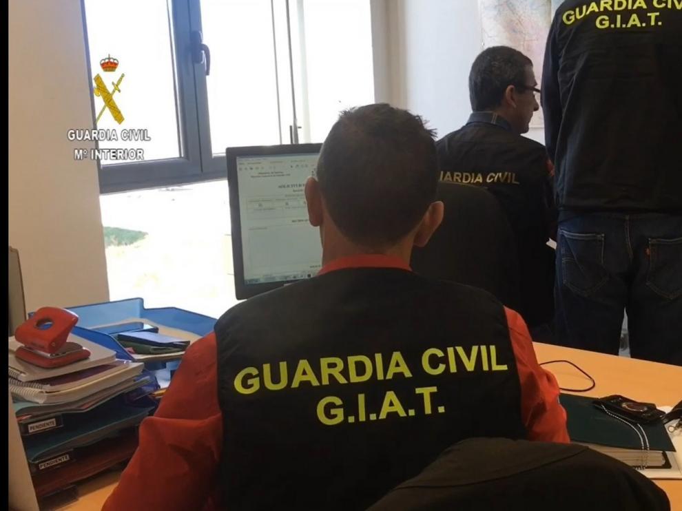 Detenido un hombre que suplantó una identidad en un examen de conducir realizado en Huesca