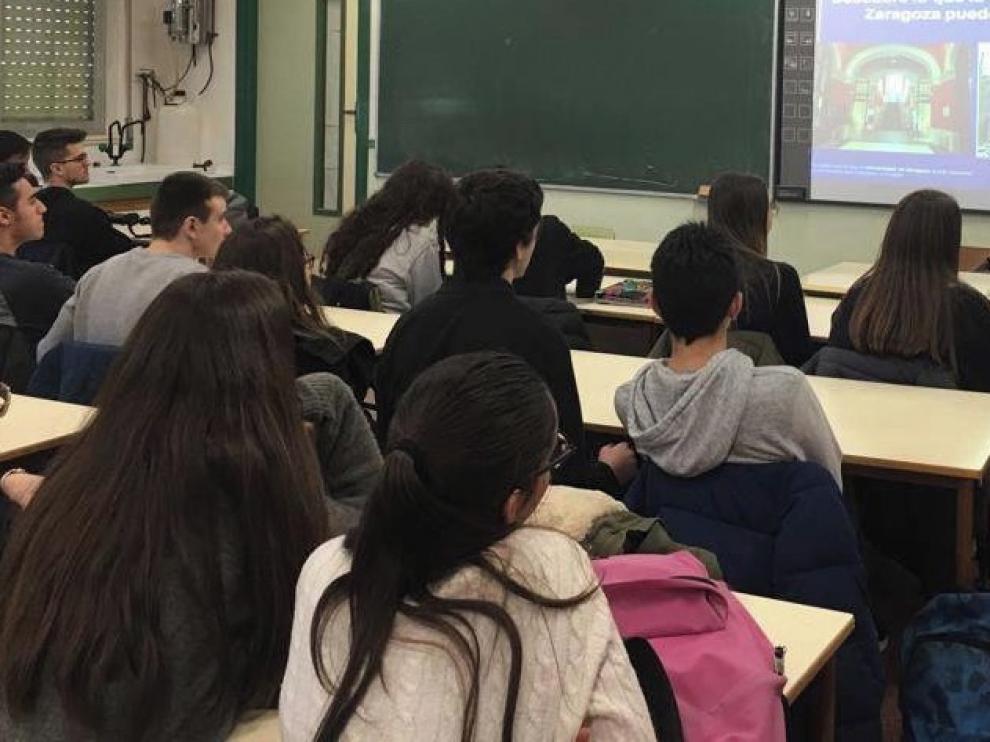 El campus ofrece charlas de orientación universitaria