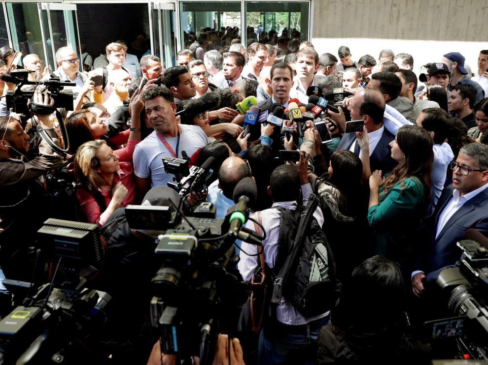 La Oposición venezolana prepara ya la transición