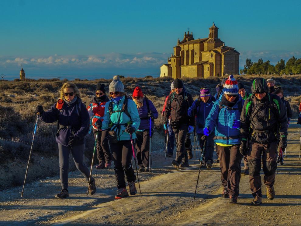 Una excursión incómoda con frío y sobre todo viento