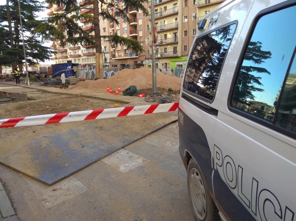 Corte del tráfico en José María Lacasa desde este miércoles por las obras de Ramón y Cajal en Huesca
