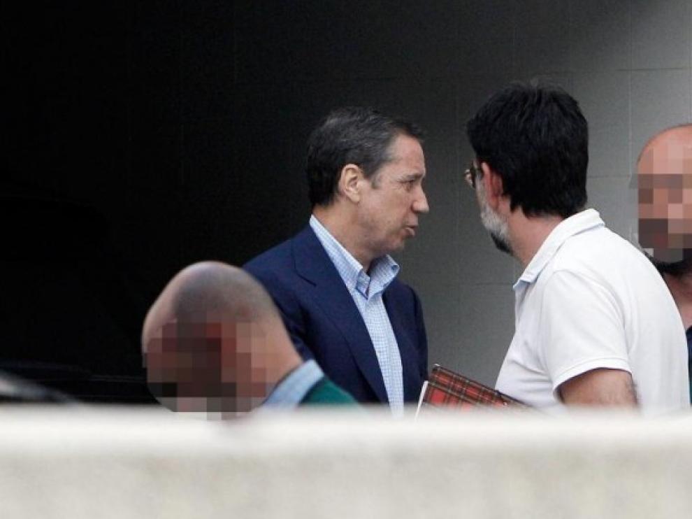 La jueza deja en libertad a Zaplana y a otros dos detenidos en el caso Erial