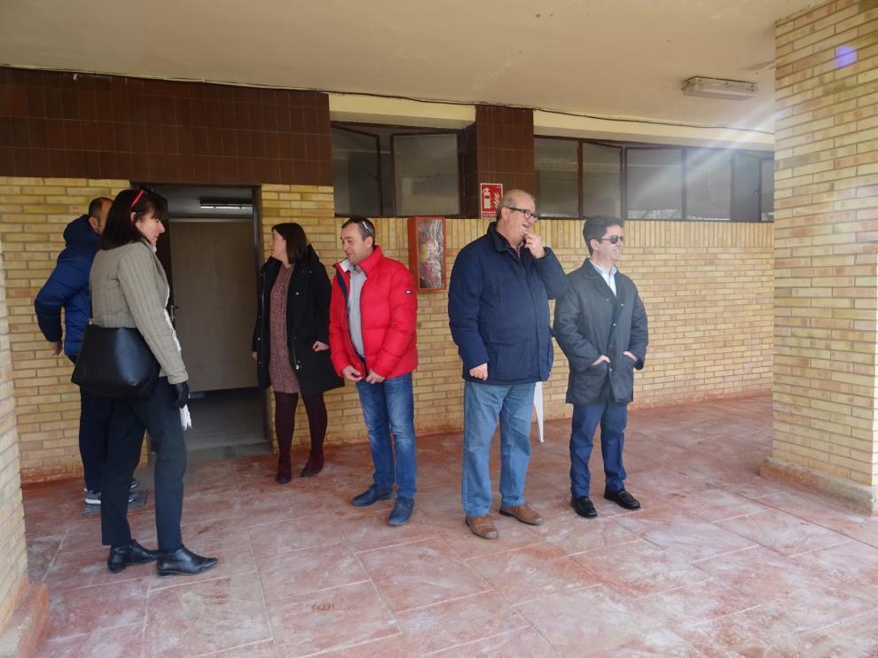 Avanzan las obras del camping San Jorge de Huesca de cara a su reapertura