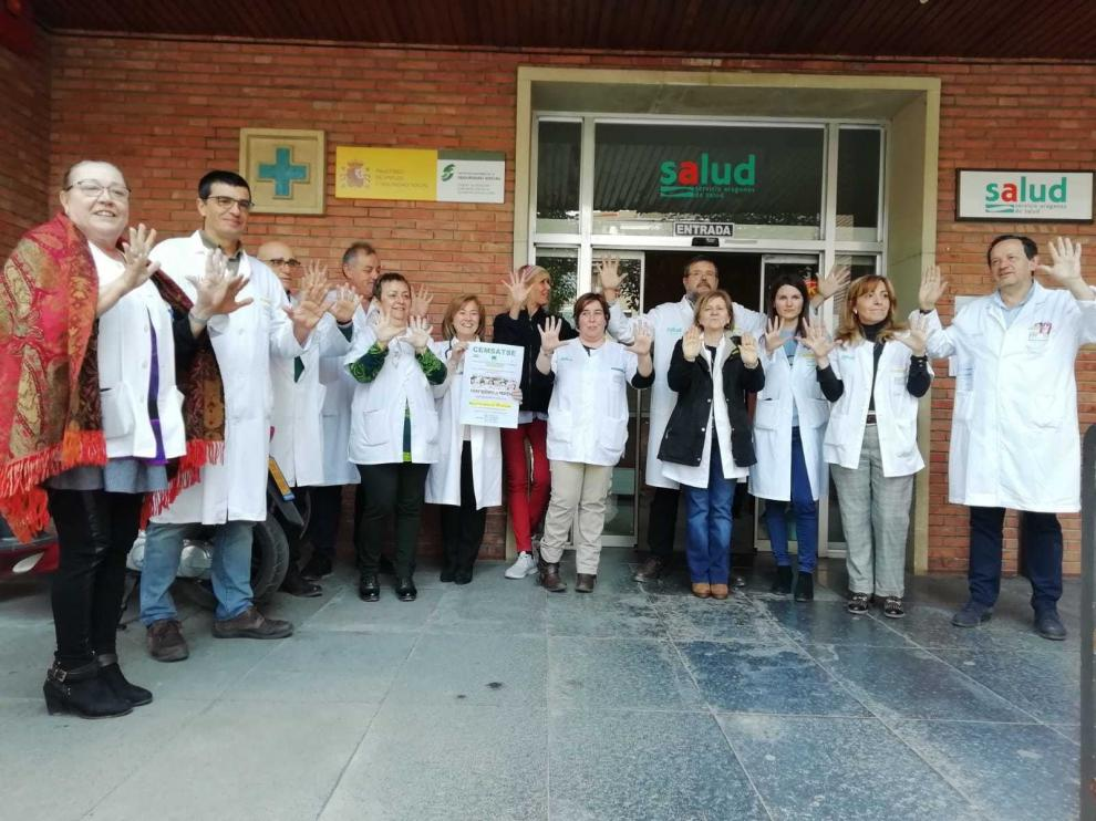 Los sanitarios piden reducir el cupo de pacientes en Barbastro y un médico más en Monzón
