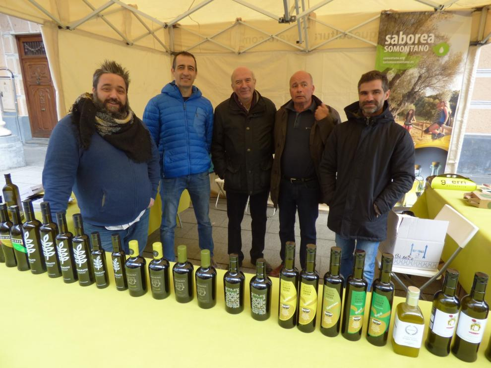 La comarca del Somontano presenta 438 marcas de aceite