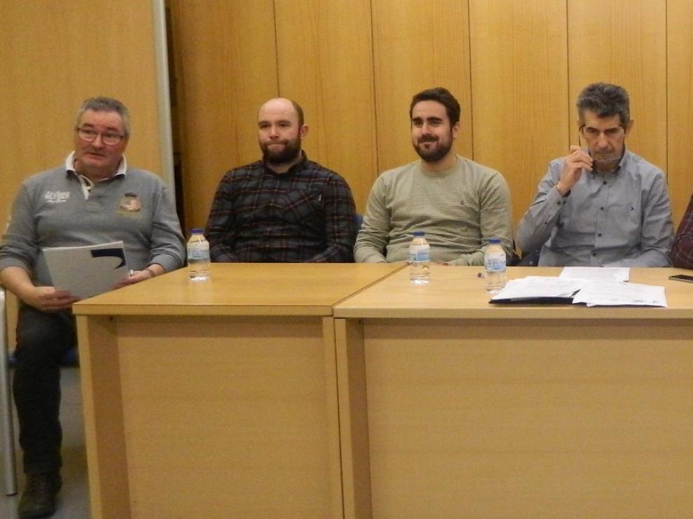 Antonio Betrán aspira este viernes a presidir el Club Hielo Jaca