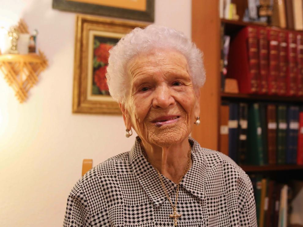 Emiliana González cumple 100 años con una salud y una memoria envidiables