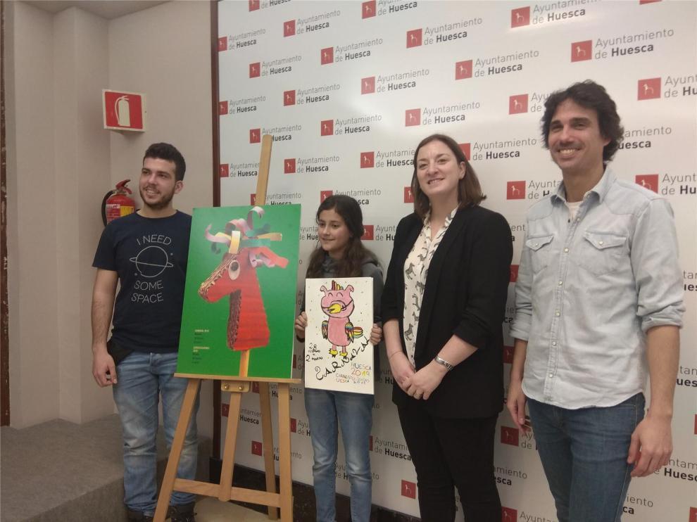 Rock en familia y cabalgata multitudinaria para celebrar el carnaval en Huesca