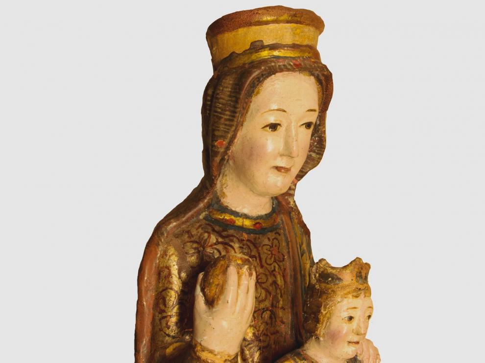 El Museo Diocesano de Jaca incorpora a su exposición la talla de la virgen de Arbués