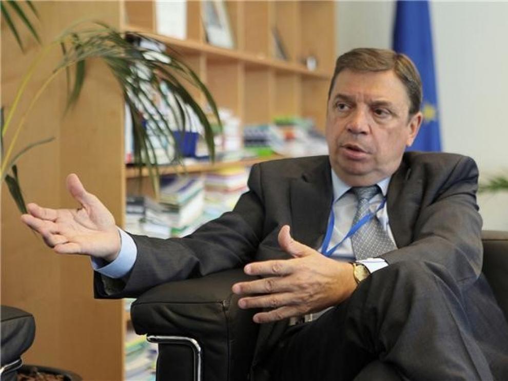 Luis Planas asiste el 20 de marzo en Huesca a la asamblea de Asaja