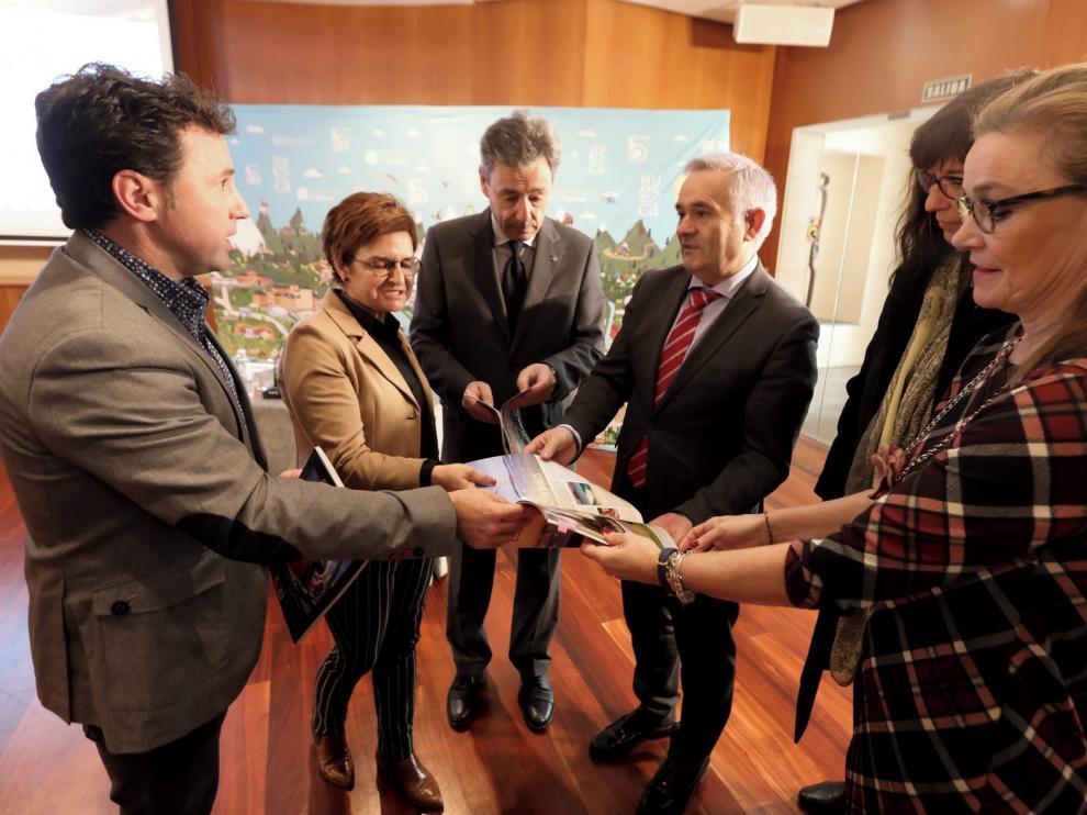 Altos Pirineos y Huesca ponen las bases para ser un destino único
