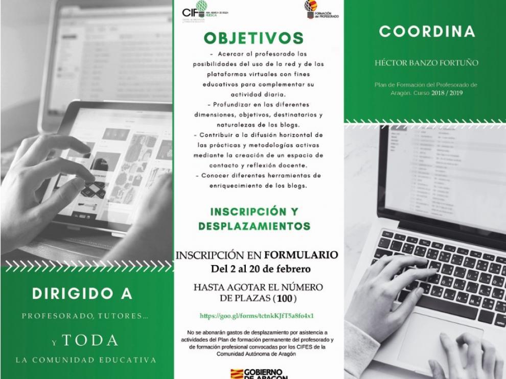 Huesca acogerá la tercera edición del Encuentro Aragonés de Educabloggers