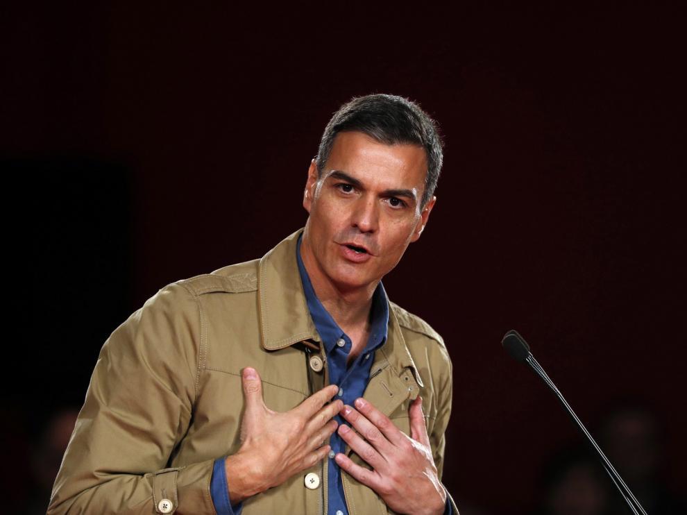 Sánchez dice que nunca aceptará la autodeterminación