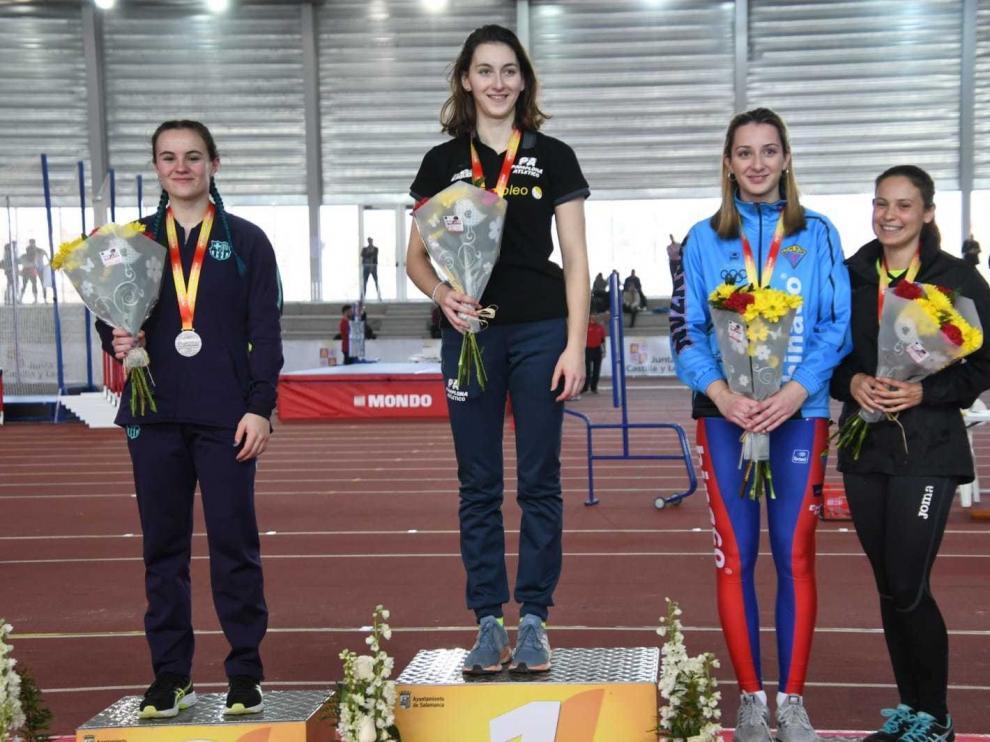 Alicia Raso, medalla de bronce con mal sabor en el Campeonato de España Sub-23