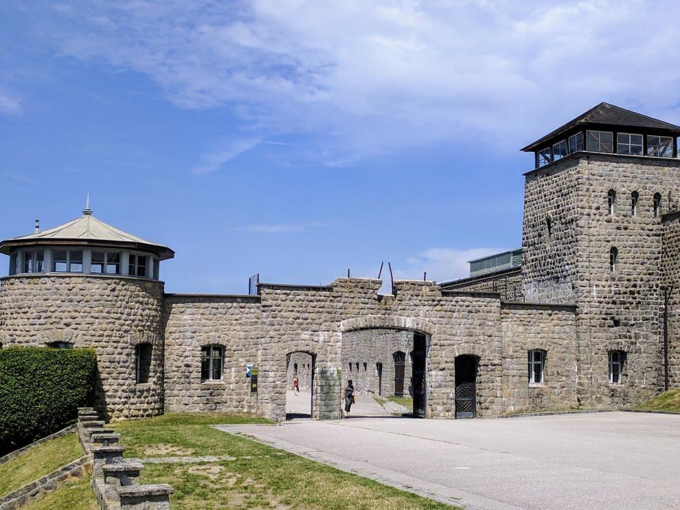 Muere Román Egea Garcés, superviviente de Mauthausen