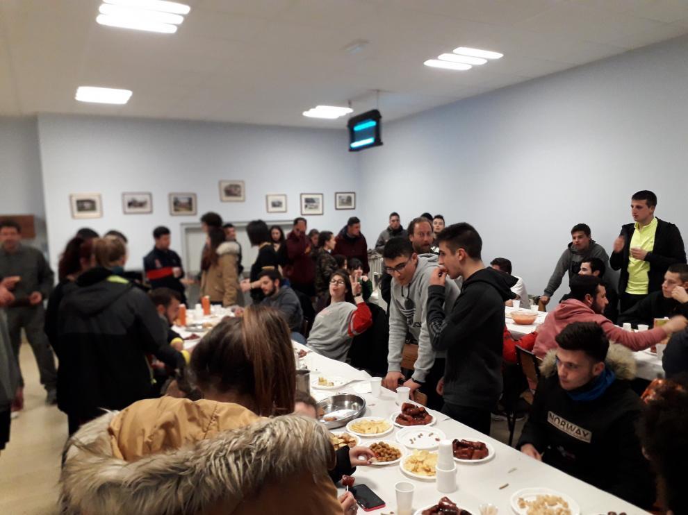 Intercambio de internos de las residencias del Montearagón y Movera