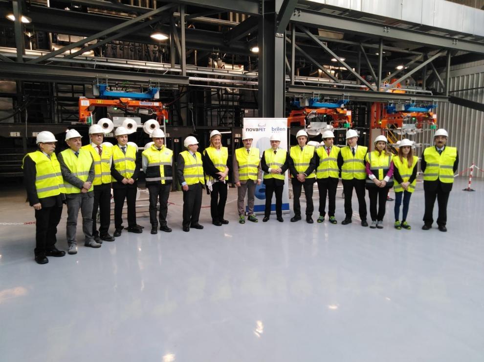 Brilén inaugura en Barbastro sus nuevas líneas de producción de hilo técnico de poliéster