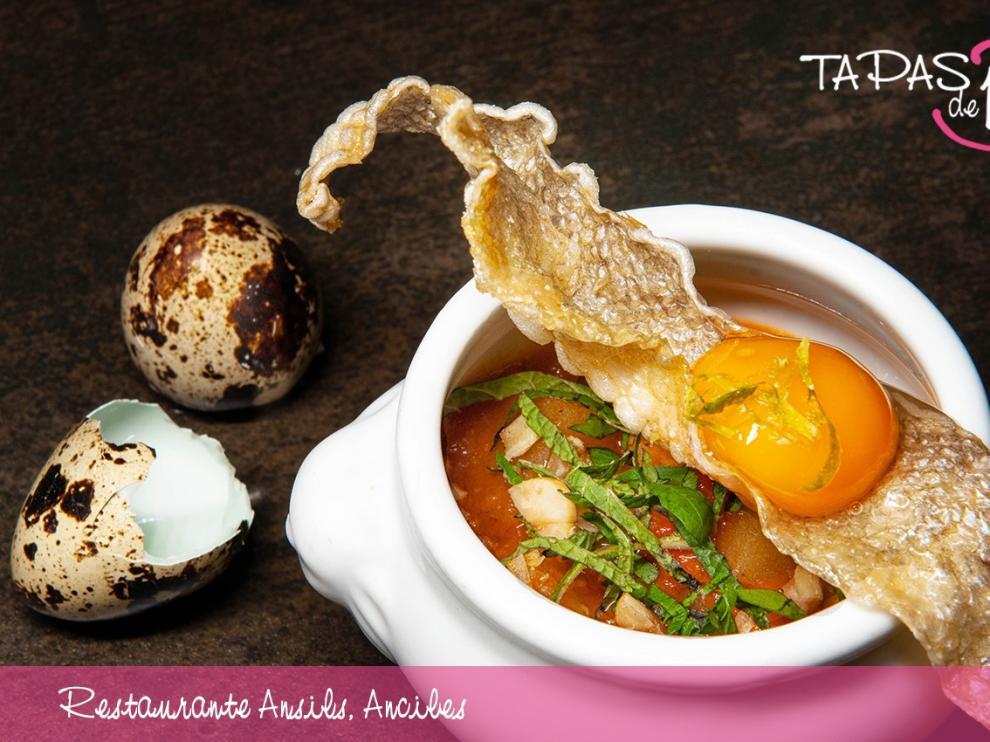 La elaboración Mami-Thai de trucha del Restaurante Ansils, mejor tapa de la Ribagorza