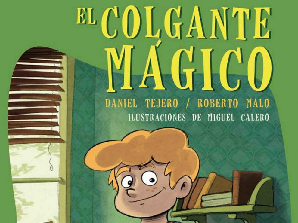 """Los niños de Monzón disfrutarán de un cuentacuentos teatralizado con los autores de """"El colgante mágico"""""""