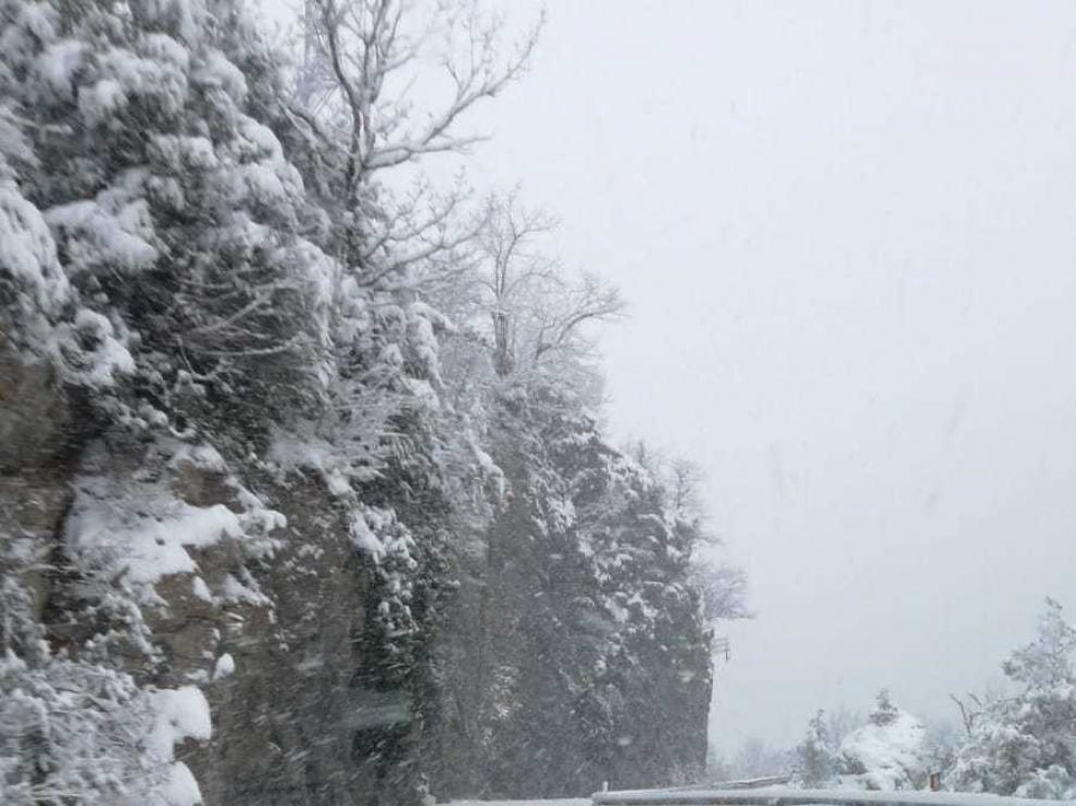 Alós critica a Fomento por imprevisión en las nevadas de enero