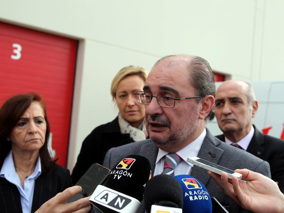 """Lambán tilda de """"desleales"""" a los partidos separatistas"""