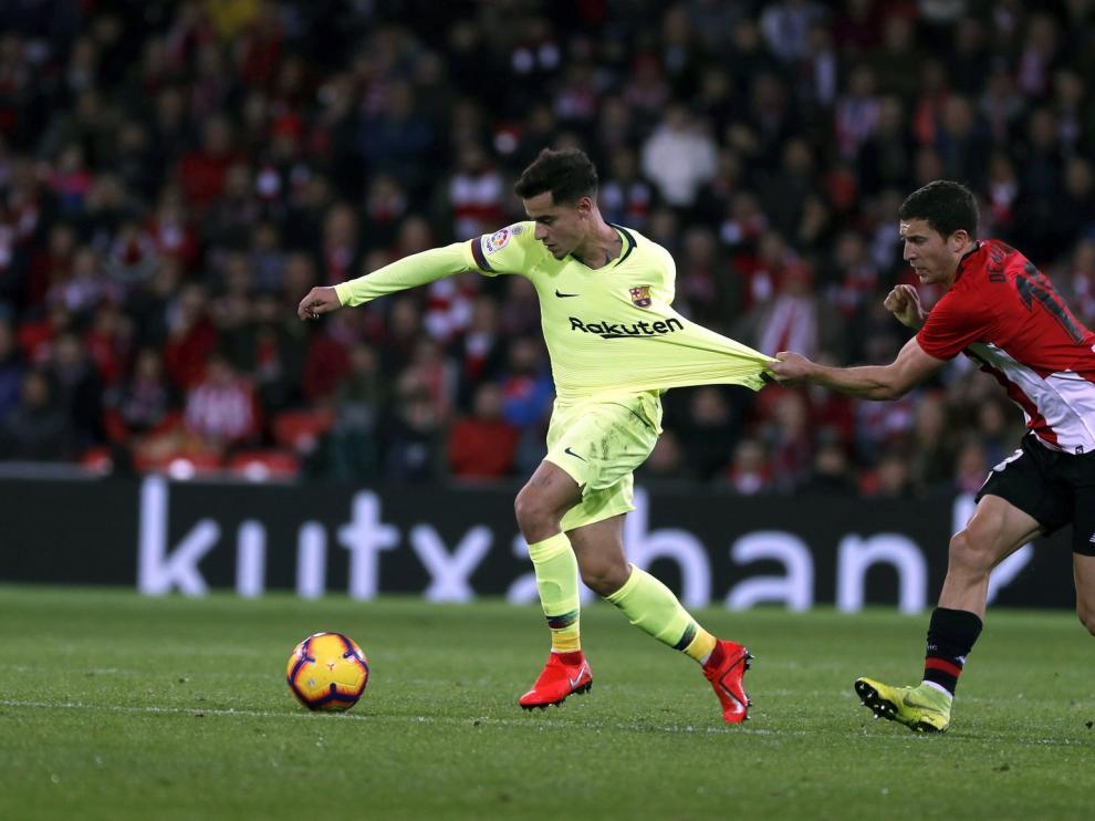 Unai Núñez se retira del entrenamiento del Athletic y es duda para El Alcoraz