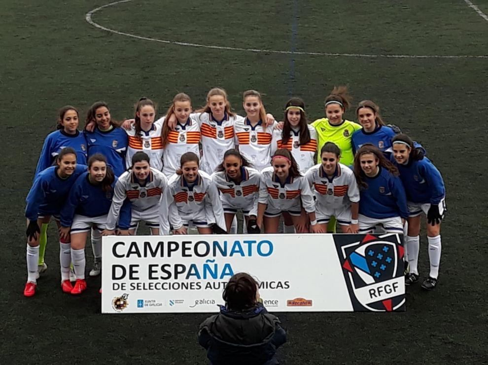 Las selecciones femeninas de Aragón cierran su participación en Galicia